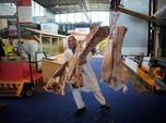 Dari 50 Ribu Ton Daging Impor Brasil, Hanya 7% Masuk RI