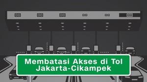 Membatasi Akses di Tol Jakarta-Cikampek