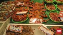 Berburu Hasil Laut Jepang Yang Segar di Omicho Market