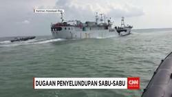 Petugas Bea Cukai Tangkap Kapal Taiwan yang Diduga Bawa Sabu