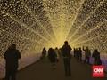 Jutaan Cahaya di Festival Iluminasi Nabana No Sato