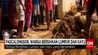Pasca Longsor, Warga Bersihkan Lumpur