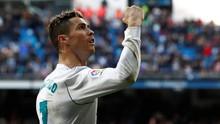Gol ke-300 Ronaldo di La Liga Lebih Cepat dari Messi