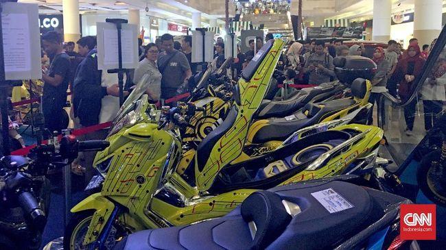 3 Pemenang Kontes Modifikasi Maxi Yamaha