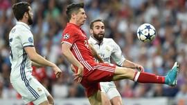Rekor Duel Bayern Munchen vs Real Madrid di Liga Champions