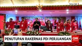 Rakernas III PDI-P Resmi Ditutup Megawati Soekarnoputri