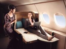 Percantik Kabin, Singapore Airlines Habiskan Rp 11 Triliun