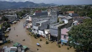 Banjir Bandung, Empat Kecamatan Terendam Luapan Citarum