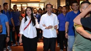 Jokowi Dampingi Kahiyang Lahiran Usai Bertemu Partai Koalisi