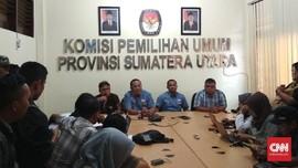 Hitung Sementara KPU Sumut, Edy-Ijeck Masih Unggul