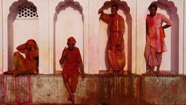 FOTO: Semburat Sakral di India