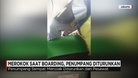 Merokok saat Boarding, Penumpang Citilink Diturunkan