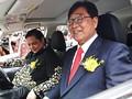 Mitsubishi Serahkan 10 Mobil 'Hijau' ke Pemerintah RI