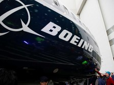 Saham Boeing Anjlok 7,2% Akibat Perang Dagang China vs AS
