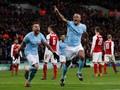 Kompany Sudah Punya Firasat Cetak Gol ke Gawang Arsenal