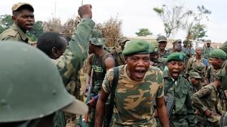 FOTO: Jejak Gempuran Pasukan Kongo ke Pemberontak Uganda