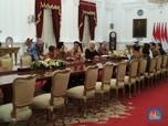 Melihat Jokowi dan Bos IMF Christine Lagarde Rapat di Istana