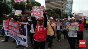 Sidang Perdana PK Ahok, Ormas Islam Turun ke Jalan
