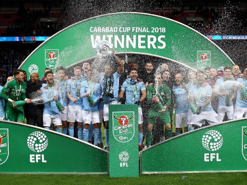 Piala Liga Inggris 2017/2018. (Foto: Julian Finney/Getty Images)