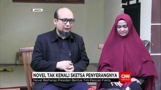 Novel Baswedan: Saya Tak Kenali Sketsa Wajah Pelaku