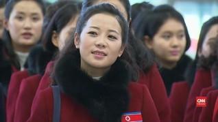 VIDEO: Momen 299 Delegasi Olimpiade Korut Meninggalkan Korsel