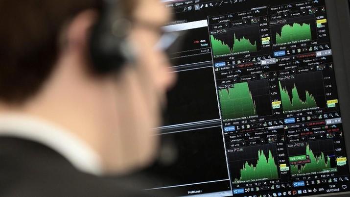 Bursa Eropa Akhiri Pekan Lalu di Zona Positif