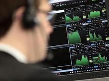 Sempat Anjlok, Bursa Eropa Ditutup Positif