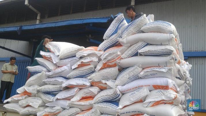 Stok Beras di Gudang Bulog 600.000 Ton, Jauh dari Aman