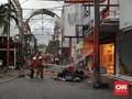 Pasar Baru Jakarta Kebakaran, Toko Jahit Ternama Ludes