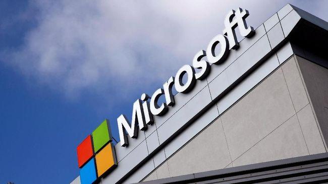 Fokus Bisnis Cloud, Saham Microsoft Moncer Geser Apple