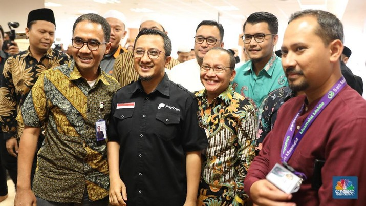 Pendiri PayTren dan Kopindo Ustaz Yusuf Mansur mengatakan maksud dari pembelian saham anak usaha BRI tersebut sebagai tempat investasi dari mobilasi dana umat.
