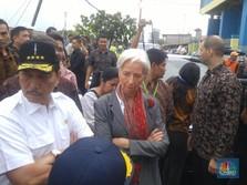 Bos IMF di TPI Cilincing: Di Sinilah Perekonomian Berjalan