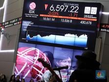 IHSG Hijau, Investor Asing Borong Saham Big Cap Ini