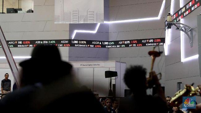 PKPK Awal Perdagangan, Dua Harga Saham Ini Naik di Atas 10%