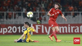Pertandingan Telat Tiga Menit, Persija Dihukum AFC