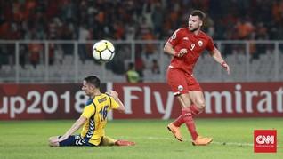 'Pertahanan Disiplin Home United Kalahkan Persija'