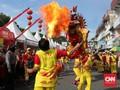 'Buka Mata Naga' Tanda Dimulainya Cap Go Meh di Pontianak