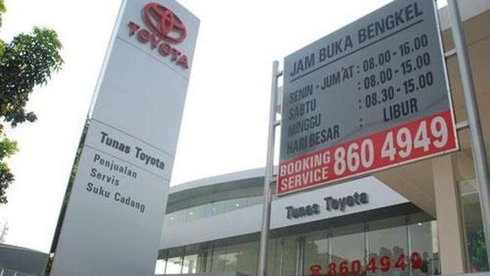 Permintaan Toyota Anjlok, Penjualan Tunas Ridean Turun 7%