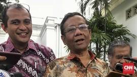 Jokowi Minta Pandangan Mahfud MD Soal UU MD3