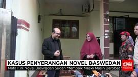 Novel Baswedan Tak Kenali Sketsa Wajah Penyerangnya