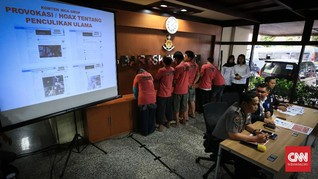 Polisi Sebut The Family MCA Terkait dengan Sindikat Saracen