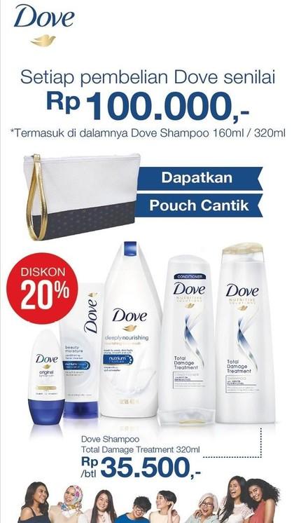 Beli Dove Shampoo Bisa Menang Macbook Sampai iPhone X!
