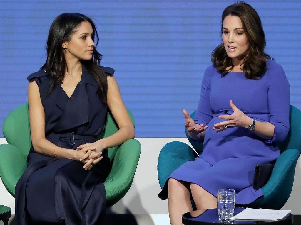 Kate Middleton dan Meghan Markle Tampil Bareng Lagi, Siapa Paling Memukau?