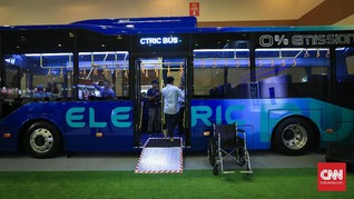 Bus Listrik Moeldoko Akan Diujicobakan di Bandara Soetta