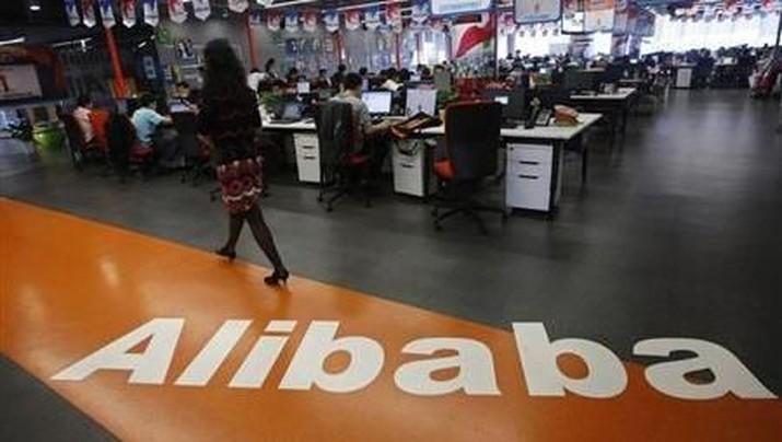Robot yang dikembangkan Alibaba di China akan memudahkan pengiriman logistik di masa depan.