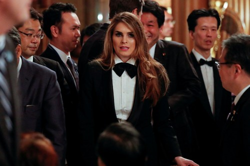 Pesona Hope Hicks, Mantan Model yang Pernah Jadi Tangan Kanan Donald Trump