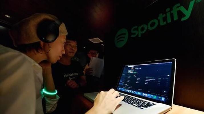 Spotify Ajukan Pencatatan Langsung di Bursa Saham New York