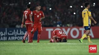 Sriwijaya FC dan Persija Jakarta Bermain Imbang 2-2