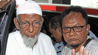 Rentan Terpapar Corona, Ba'asyir Ajukan Asimilasi ke Jokowi