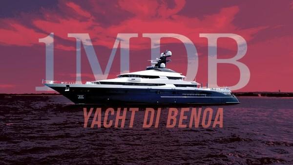Yacht Rp 3,5 T Terkait 1MDB